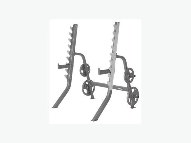 Squat/bench rack