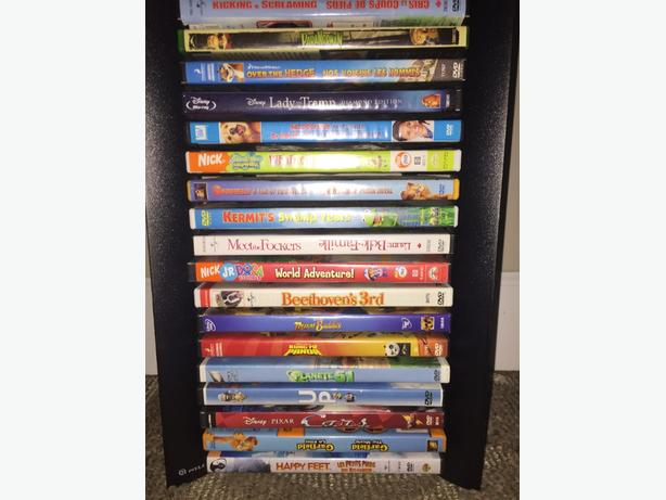 Dvds And Tower