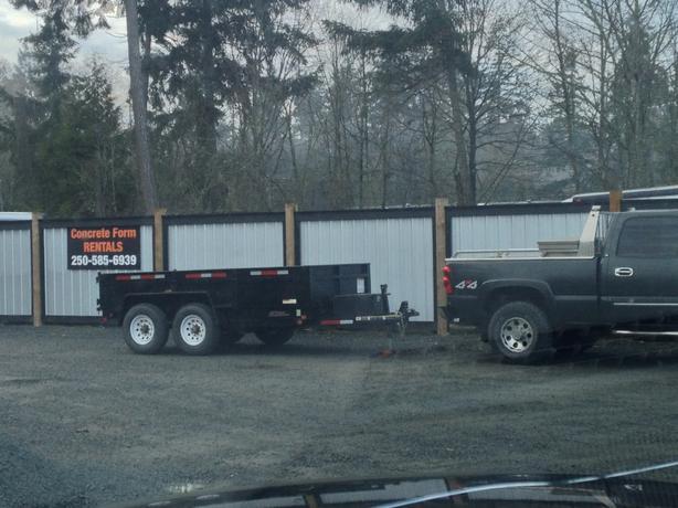12000lb Dump trailer