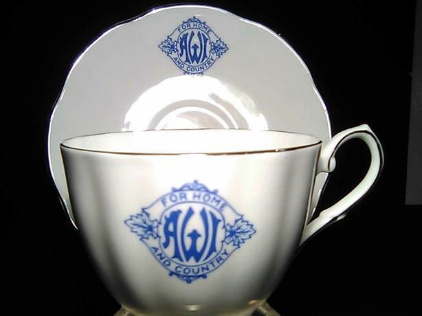 AWI Teacup and saucer
