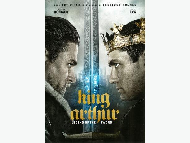 King Arthur Legend Of The Sword (DVD)