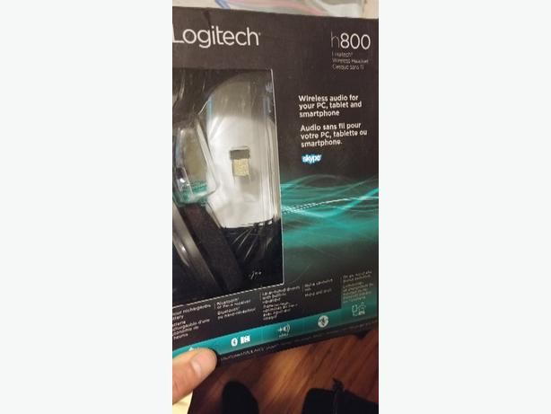 logitech h800 wireless headphones 50$
