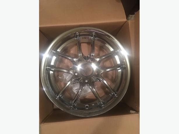 "Brand new 5x120 17"" wheels"