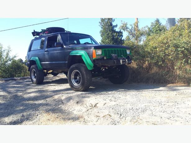 1990 2 door jeep Cherokee