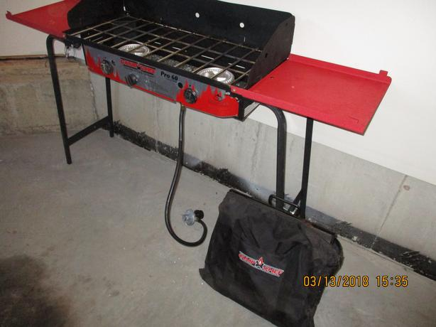 CAMP CHEF PRO 60X TWO BURNER STOVE