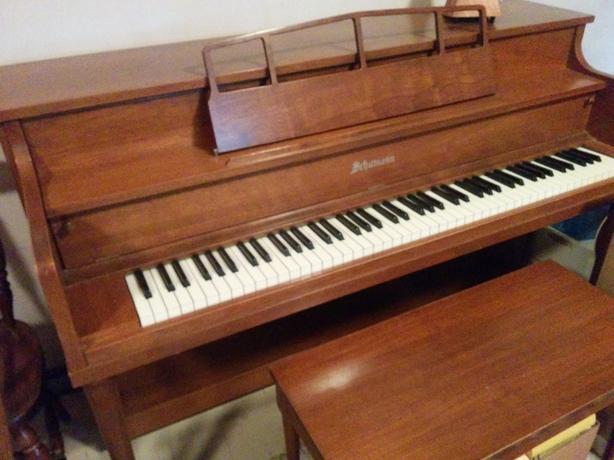 NICE SHAPE 1960's SCHMANN UPRIGHT PIANO