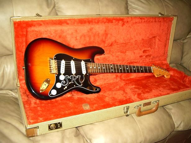 1992 Fender Stevie Ray Vaughan Stratocaster - 3-tone Sunburst