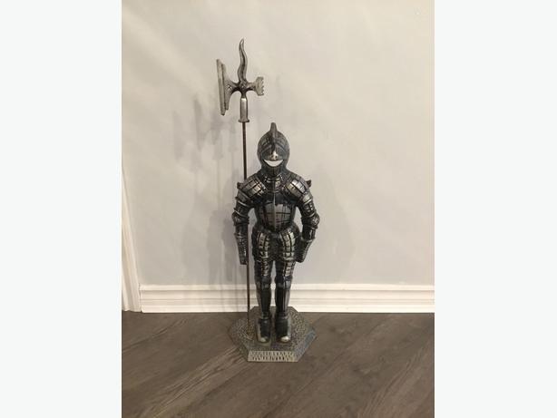 Vintage Metal Knight