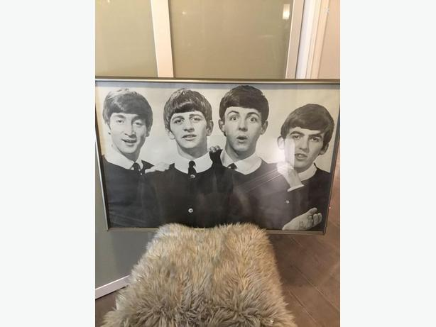 1981 Numbered Beatles Poster