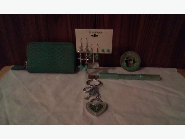 Wallet/earrings/eye liner/ointments/key chain