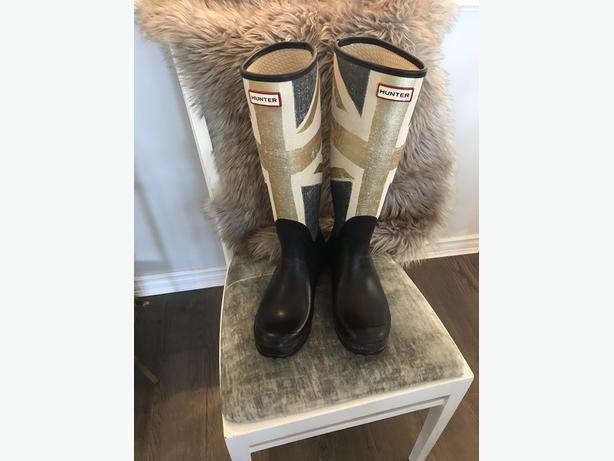 Union Jack Hunter Boots