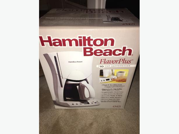 Brand New Hamilton Beach 10 cup Coffee Brewer