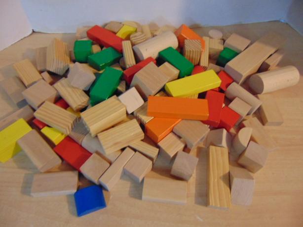 113 Pc Imaginarium Assorted Wood Blocks