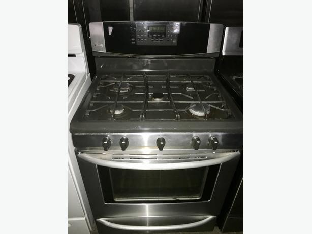 KENMORE ELITE 5 BURNER GAS STOVE