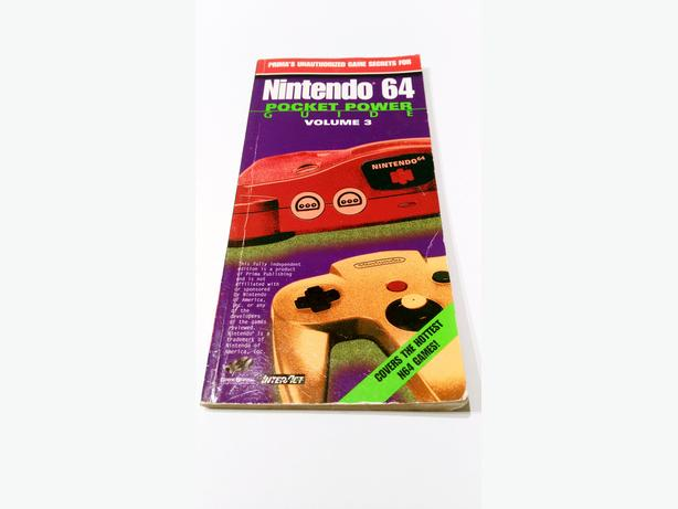 Nintendo 64 Pocket Power Guide Book - Volume 3