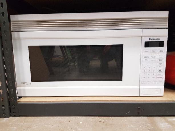 Panasonic above stove microwave