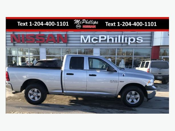 2017 Ram 1500 ST only 657 kms!! 4x4 financing avalible