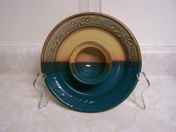 Pottery Dip Platter