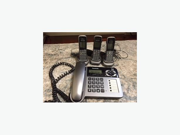 Panasonic Corded/Cordless Phone Set