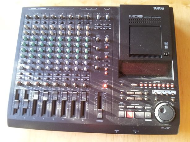 Yamaha MD8 - 8 Channel Mixer and Multitrack Recorder