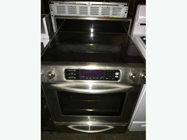 KITCHENAID SLIDE IN FLAT TOP W/REMOVABLE BACK