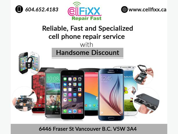 Reliable, Fast, Competitive Cell Phone Repair with OEM Warranty