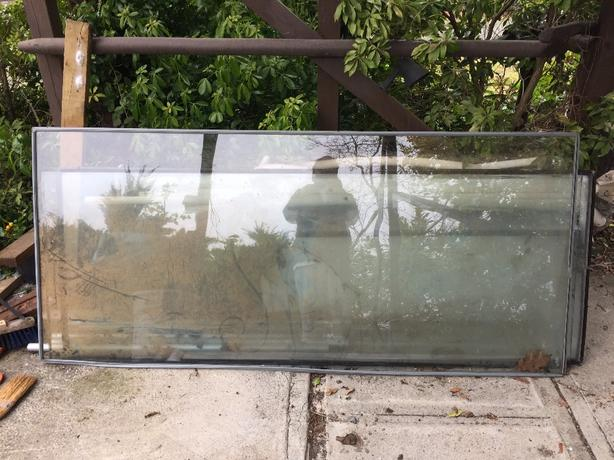 FREE: Tempered glass for greenhouse project