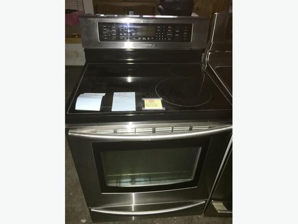 SAMSUNG HYBRID INDUCTION/ELECTRIC STOVE
