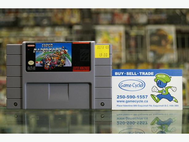 Super Mario Kart For SNES @ Game Cycle