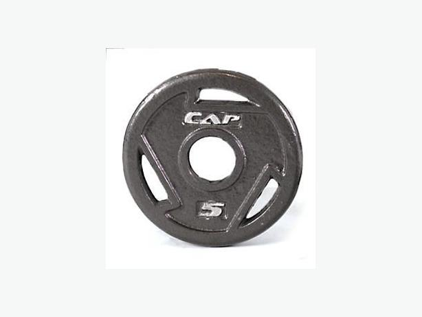 """2 x 5lbs CAP Weight Plates (Accommodates 2"""" Bars)"""