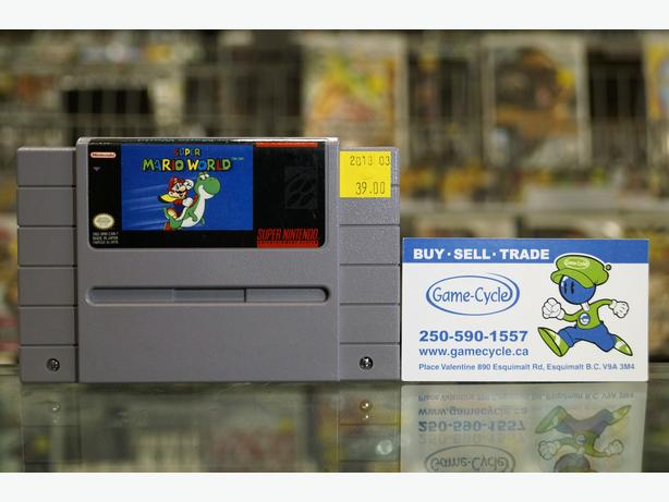 Super Mario World For SNES @ Game Cycle