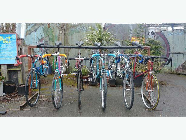 We have bikes!