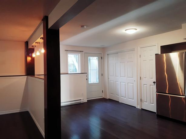 Brand new, beautiful and bright one bedroom basement suite for rent!