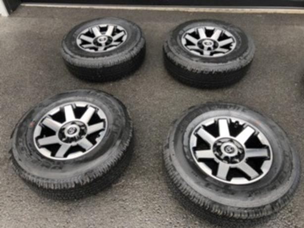 Toyota 4Runner TRD Off-Road Rims & Tires