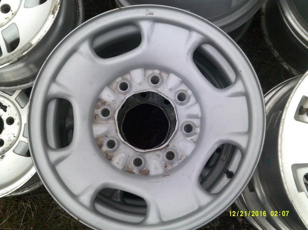 "17"" Steel GMC or Chevy Wheels 8 Bolt"