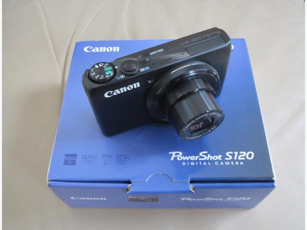 CANON S120 HiEnd,WiFi,TouchScreen,32GB Mem.Card / perfect for Travel