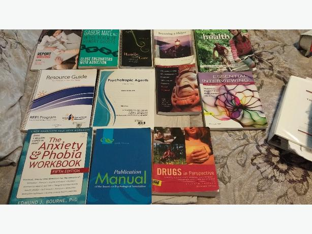 Mental Health and Addictions Textbooks