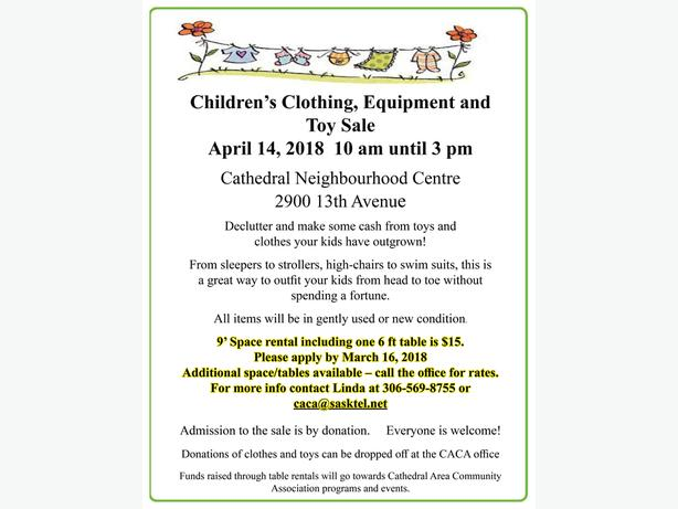 Make money selling your child's gently used clothing, toys & equipment