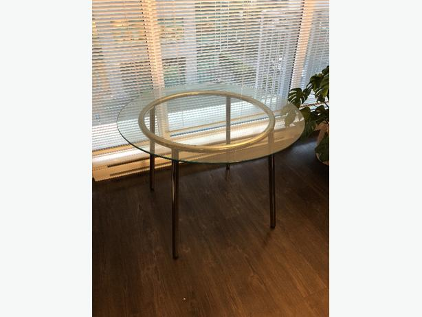 Ikea Salmi Glass table