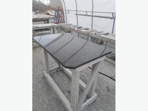 Beautiful Dark Grey Granite Table Top