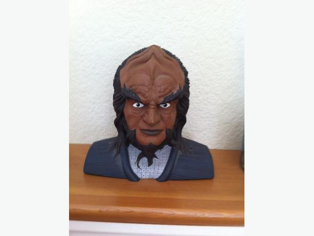 Star Trek Worf Piggy Bank