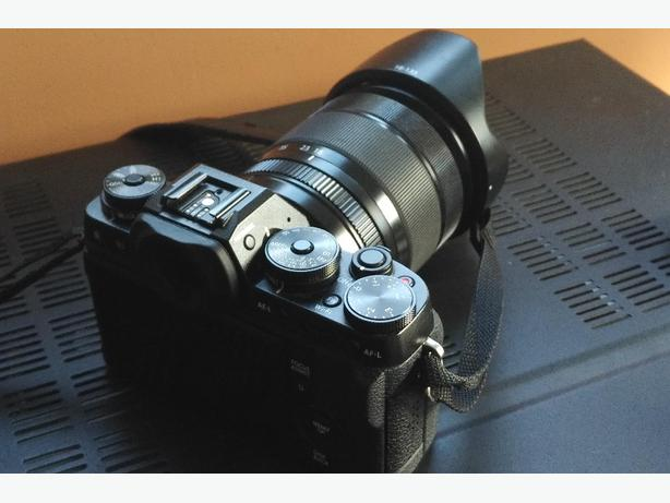 Fujifilm X-T1 with 18-135mm weather sealed lens