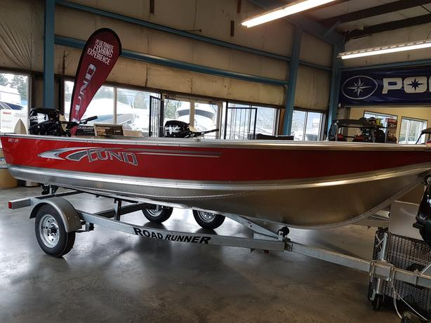 2018 Lund WC14 w/ 20Hp March Madness Boat Package