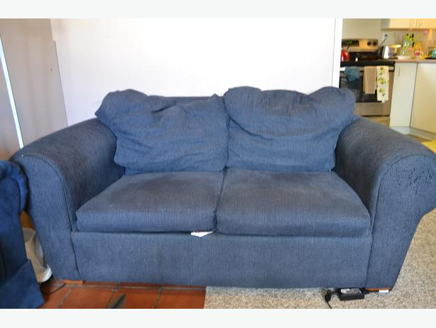 FREE: Blue loveseat