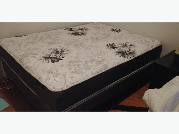 brand new queen size bed & boxspring