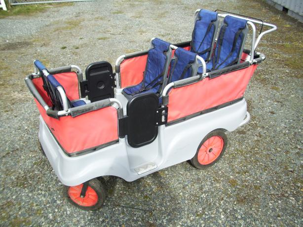 Six Seat Kiddy Cart