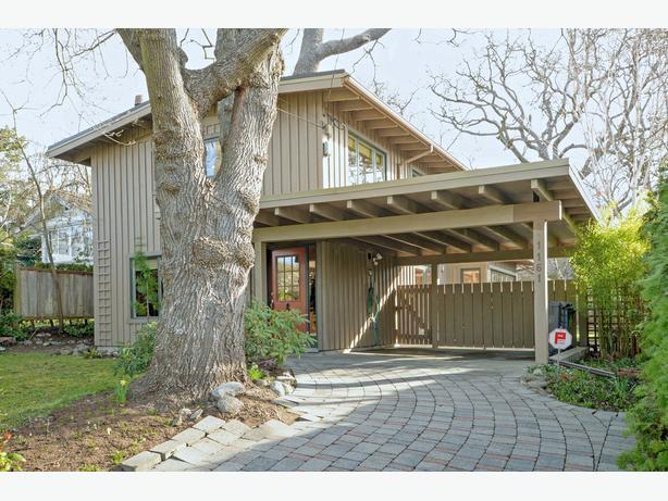4 bed 3 bath mid-century modern home in heart of Oak Bay