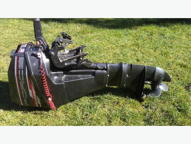 Force 9.9 hp outboard
