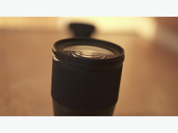 Sigma 16mm f1.4 Lens