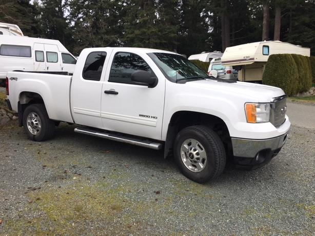 2013 GMC Sierra 2500HD Extended Cab 4x4